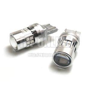 T20/T20ピンチ部違い対応ウインカー用LEDバルブ 2835x19連+プロジェクター:ダイハツ・エッセ・L235S/L245S
