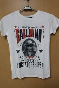 SUNDAY21 レディース半袖Tシャツ ホワイト XSサイズ イタリア製 新品