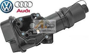 【M's】AUDI A1 A3 S3 A4 S4 A6 S6 TT TTS 純正品 オイルフィルターブラケット//オイルフィルターハウジング 06F115397J 06F115397H