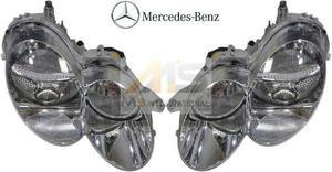 【M's】R230 SLクラス 前期(2002y-2008y)純正品 バイキセノン ヘッドライト 左右セット//ベンツ AMG 正規品 230-820-0159 230-820-0259