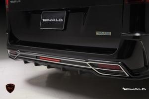 【WALD Black-Bison】 Mercedes-Benz W447 Vクラス 2015y~ リアバンパー スポイラー V220d ブラックバイソン リヤバンパー
