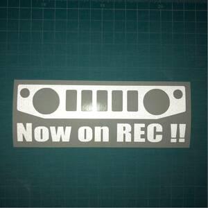 反射 ドライブレコーダー ステッカー JB64W ジムニー スズキ クロカン JIMNY リフトアップ 林道 ステンシル 4wd 世田谷ベース