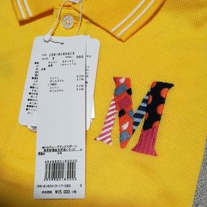 新品正規品 サイズ3 マスターバニー パーリーゲイツ 高機能 サラサラドライ 高級 ポロシャツ 送料無料イエロー