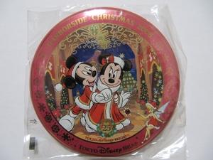 TDS 東京ディズニーシー 2008年 クリスマス 缶バッジ ミッキー ミニー TDR 限定 ディズニーリゾート