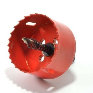 穴明け工具 ホルソー 壁穴 単品 電動 ドリル 穴あけ 掘削 穿孔 ホ-ルソ ー高速度鋼 ハイス 65mm  エアコン取り付け