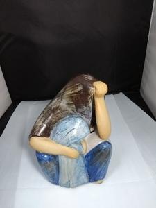 リサラーソン 北欧ビンテージ  GUSTAVSBERG SKULPTURER Arabkvinna グスタフスベリ アラブの女性 a-21111