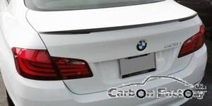 ●BMW F10 5シリーズセダン用 BMW パフォーマンスタイプ カーボントランクスポイラー/520/523/535/550/M5/リアスポイラー/リアウイング/