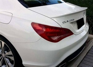 ●メルセデスベンツ W117/C117/CLAクーペ用 AMGタイプ トランクスポイラー/一律送料/ABS/人気商品/CLA180/CLA250/CLA45AMG/リアスポイラ