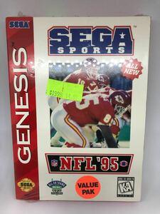 新品 【NFL '95】 北米版セガ ジェネシス用ソフト ④
