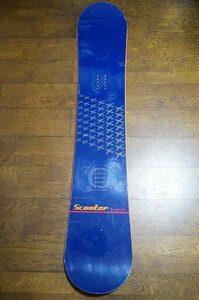 国産スノーボード SCOOTERスクーター SCT 152cm*BURTONバートンsalomonridemossELAN011DEATHLABELk2yonex