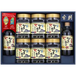 【数量限定・激安】 アサムラサキ 朝紫 かき醤油のり佃煮セット カキ 牡蠣しょうゆ 牡蠣醤油 カキしょうゆ 海苔 ギフト 詰合せ AN-50