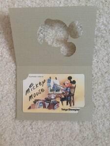 ☆未使用・美品☆ TDL 東京ディズニーランド テレカ テレホンカード ミッキー Mickey ディズニーリゾート Disney Resort 90年代