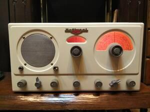 米国ナショナル National RADIO Co., INC. NC-57 9球5バンド受信機 1950年代 National NC 真空管ラジオ アメリカ製