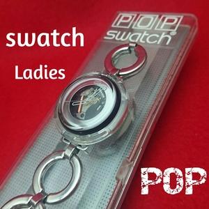 swatch POP Ladies スウォッチ ポップ レディース ケース付き 中古 GW 169
