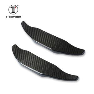 T-carbon社製 メルセデスベンツ AMG A45 C63 CLA45 CLS63 S63 GLE63 GLS63 (黒)  リアルカーボン パドルシフトエクステンション