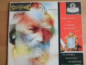 米 ロンドン CS6030 ブラームス/ハイドンの主題による変奏曲等 ハンス・クナッパーズブッシュ指揮 ウィーンフィル 希少盤