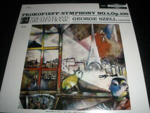 ジョージ・セル プロコフィエフ 交響曲 第5番 Op.100 クリーヴランド管弦楽団 オリジナル 紙ジャケ 未使用美品