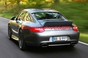 ◆ポルシェ 911/997カレラ/GTS/ターボ クーペ用 カーボンルーフスポイラー/2S/4S/リアスポイラー/リアウイング/クロスカーボン/テック