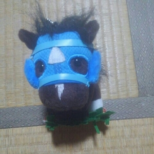 アイドルホースマスコットオジュウチョウサン(中山グランドジャンプ)