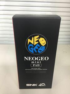 【新品・未開封】NEOGEO mini ネオジオミニ PADパッド (黒)コントローラー即決送料無料