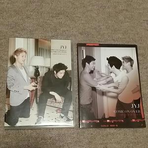 JYJ COME ON OVER ディレクターズカット DVD 80分 ミニ写真集 ジェジュン ユチョン ジュンス 貴重 レアグッズ