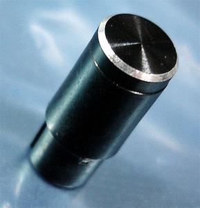 ツマミ (頭部・アルミ/本体・樹脂/18.5mm×8.5Φ) [10個組].c
