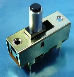 スライドスイッチ (AC125V・1A/2回路/ON-ON) [5個組](b)