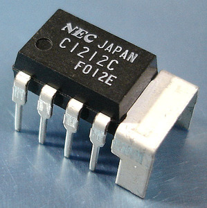 NEC uPC1212C (1W AF パワーアンプIC) [4個組](a)