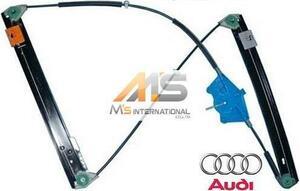 【M's】AUDI A4 S4 RS4(2001y-2008y)純正品 ウインドーレギュレーター(左前)//アウディ 8E B6 B7 ウィンドーレギュレター 8E0-837-461C