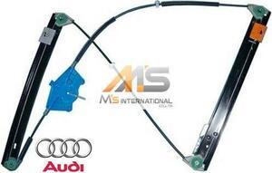 【M's】AUDI A4 S4 RS4(2001y-2008y)純正品 ウインドーレギュレーター(右前)//アウディ 8E B6 B7 ウィンドーレギュレター 8E0-837-462C