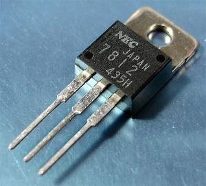 NEC uPC7812H (三端子レギュレータ +12V/1A) [10個組](b)