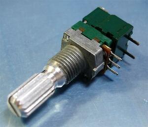 ALPS объем ( реостат ) B50KΩ* переключатель есть * боковая сторона [2 штук комплект ].e