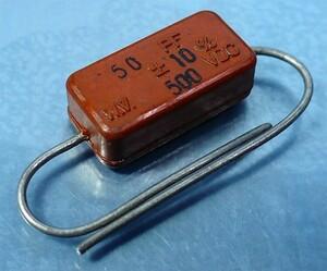 день Special электро- машина mica конденсатор JCM-L1(500V/50pF) [2 штук комплект ](b)