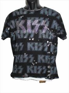 サディスティックアクション SADISTIC ACTION アイコニック メンズ半袖Tシャツ Mサイズ KISS 新品