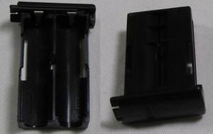audio-technica オーディオテクニカ ワイヤレス用マイクロホン用バッテリーボックス 2個セット 即決!