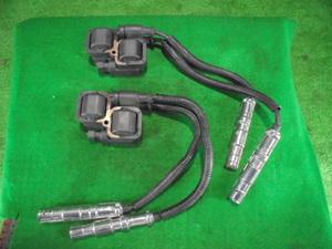 保証付 ベンツ A170 DBA-169032 イグニッションコイル 2個セット コード付 宮城県発/2WD/平成18年(TK300920 マスタ上) サイズ:A な