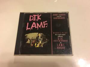 Johnny Thunders & The Heartbreakers D.T.K. - L.A.M.F. 1986年 Jungle Records FREUD CD 4 Sex Pistols New York Dolls