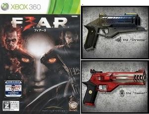 新品未開封★初回限定★武器DLコード付 XBOX360 フィアー3 F.E.A.R.3 FEAR3 F.3.A.R (シュレッダー Shredder ハンマー Hammer XBOX 360