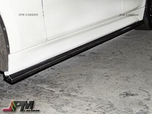 カーボン サイドステップスポイラースカート12-15 BMW F30 F31 Mスポ用