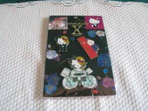 ☆X-JAPAN  yoshikitty ピンバッジ3個セット・Xポーズ・未開封品