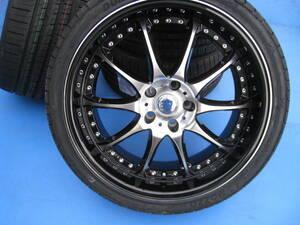 ボルボ V70・S80 ホイール&タイヤ 4本販売 19インチpalazzo-P707 pcd108/5H モデルDBA&CBA 3.2SE&AWD・T4 SE・T4クラシック等
