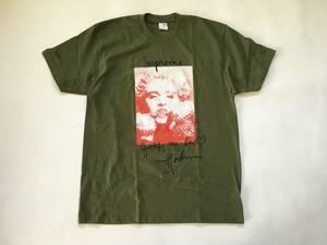 Lサイズ!18Supreme Madonna Tee olive オリーブ シュプリーム マドンナ Tシャツ