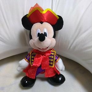 ディズニーハロウイーン ヴィランズワールド2015 ミッキー ぬいぐるみバッジ ぬいば ディズニーシー TDS TDL TDR フック船長