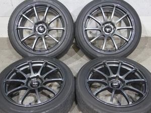 【超希少】18インチ 8J +45 & 8J +37 PCD114.3 ADVAN Racing RS アドバン アルテッツァ S14 S15 R33 R34 GTR Z32 Z33 Z34 V35 V36 RZ GT DF