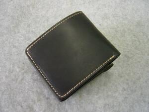 【 送料無料 新品 】日本製 スペシャル 2way 札入れ財布 牛革 二つ折り カード入れ有り ブラック