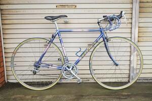 希少 レア 3RENSHO 三連勝 3連勝 ロードバイク 自転車 ツートンパープル ビンテージ