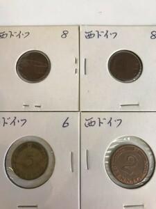 ★西ドイツ〈古銭〉アンティークコイン★6枚セット★コレクションに♪[KT-0218]