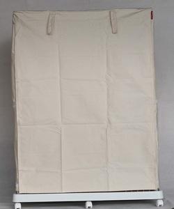 Cocoheart ケージカバー日本製(縫製・帆布/綿100%)(横幅85cmX奥行き60cmX高さ180cm) 3段ケージ用 Aタイプ, オフホワイト 生成り色