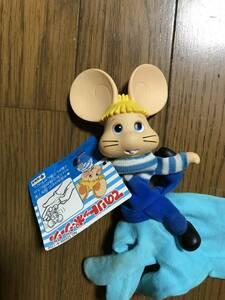 未使用 レトロ ビンテージ タカラ てのり トッポジージョ ぬいぐるみ 人形 日本製 フィギュア