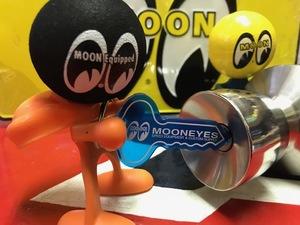 MOONEYES スピードキーリング  ムーンアイズ ブルー 検索用→ムーンアイズ アンテナトッパー ユノカル76